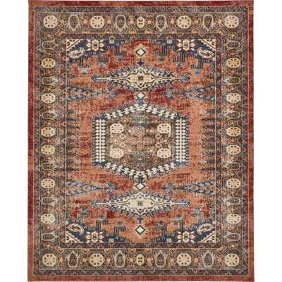 Arcadia Terracotta 8 ft. x 10 ft. Area Rug - Home Depot