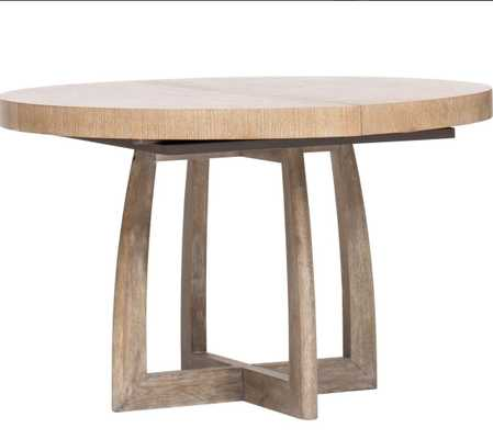 Affinity Round Pedestal Table - High Fashion Home