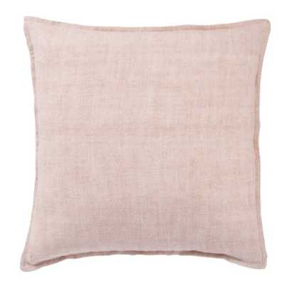 Emalita Linen Pillow, Cameo Rose - Poly Insert - Lulu and Georgia