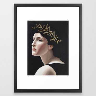 Laurel Framed Art Print - Society6