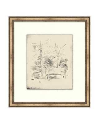 ETCHED BRUNCH Framed Art - McGee & Co.