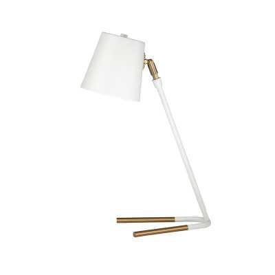 "Pittman Metal 19"" Desk Lamp - Wayfair"