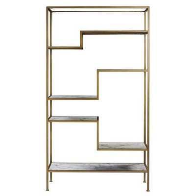 Marmo Etagere Bookcase - Wayfair