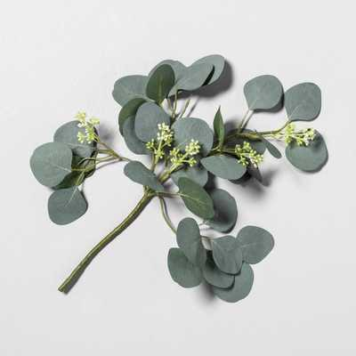 """16"""" Faux Eucalyptus Stem with Berries - Hearth & Hand™ with Magnolia - Target"""
