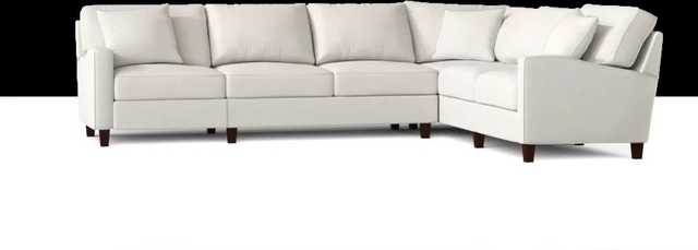 William 123'' Wide Corner Sectional - Right hand facing - Conversation pearl fabric - Wayfair