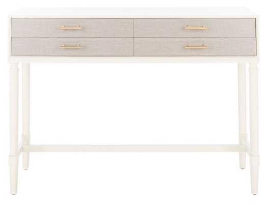 Estella 4 Drawer Console Table - Arlo Home