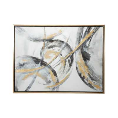 Contemporary Abstract Art Painting Wall Décor - Wayfair
