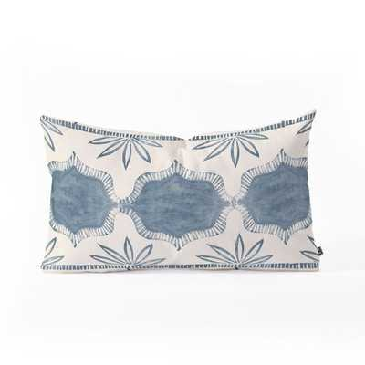"TUNI LUNA Oblong Throw Pillow - 23"" x 14"" - insert included - Wander Print Co."