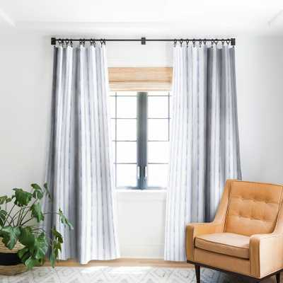 "AEGEAN BOLD STRIPE BLACKOUT WINDOW CURTAIN, 108"" - Wander Print Co."