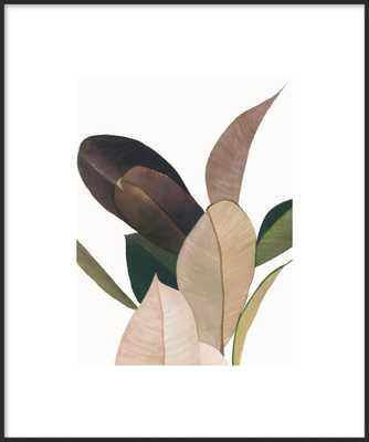 "Friends  BY EMILY GRADY DODGE - 11 x 14"" Framed Art Print, Matte Black Metal Frame, With Matte - Artfully Walls"