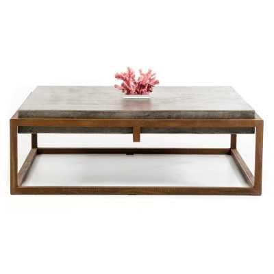 Tamiko Solid Coffee Table - Wayfair