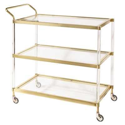 Lagasse Bar Cart - Wayfair