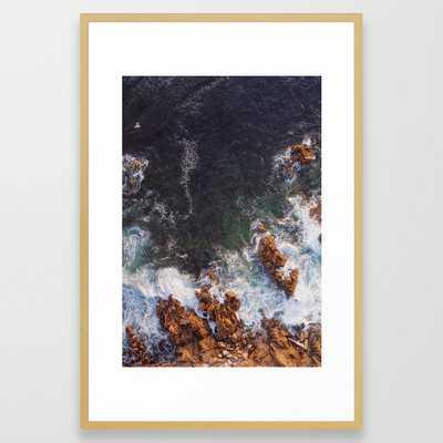 Terracotta Framed Art Print - Society6
