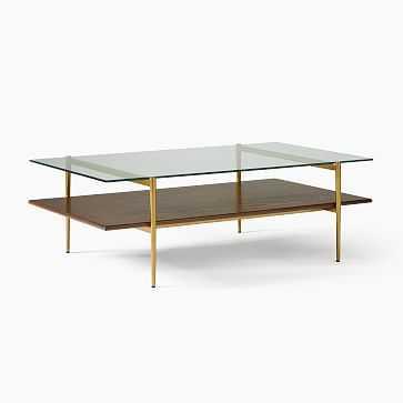 """Art Display Coffee Table, 52"""", Wood - West Elm"""