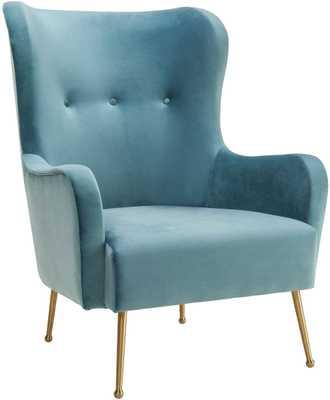 Erin Sea Anna Velvet Chair - Maren Home