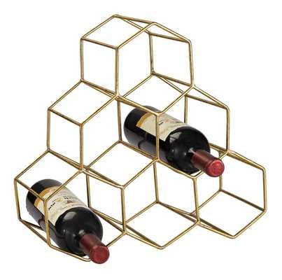 Stetson 6 Bottle Tabletop Wine Rack - AllModern