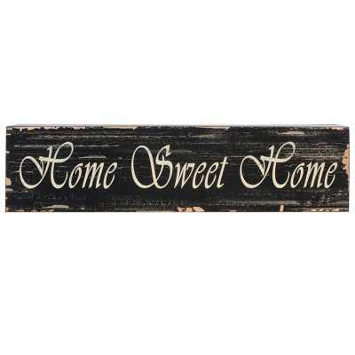 HOME SWEET HOME WOODEN WALL DÉCOR - Birch Lane
