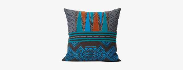 Victoria (Teal) Pillow - Joybird