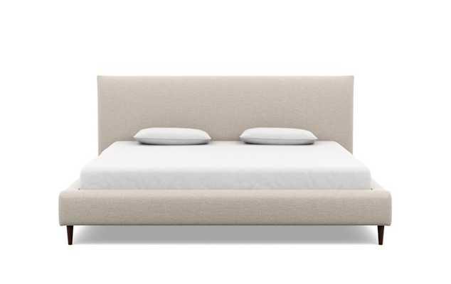 HARPER King Fabric Bed Frame - Interior Define