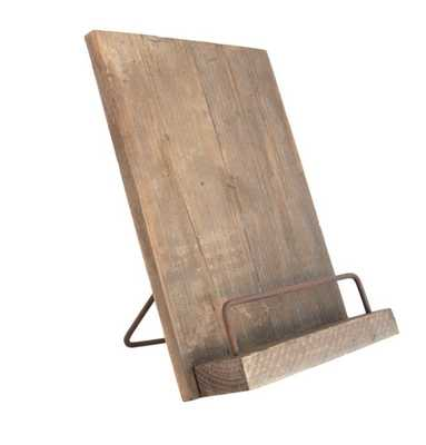AGED COOKBOOK STAND - McGee & Co.