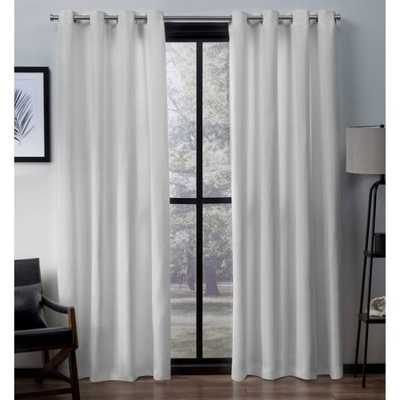 Marnie Solid Light Filtering Grommet Curtain Panels - Wayfair
