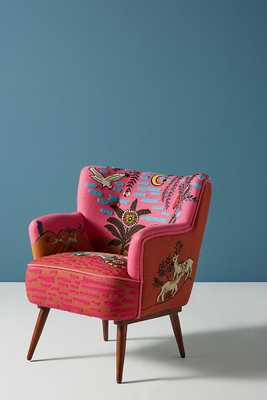 Imagined World Petite Accent Chair - Anthropologie