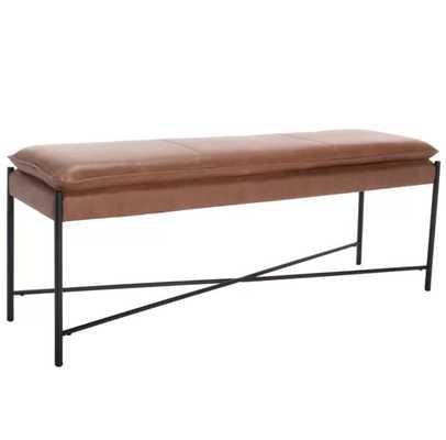 Vidal Metal Bench - Wayfair