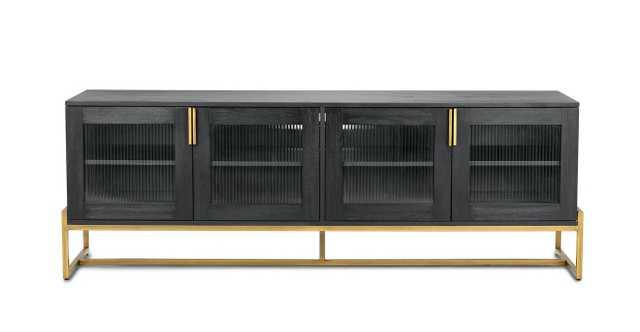 "Oscuro Walnut 73"" Cabinet - Article"
