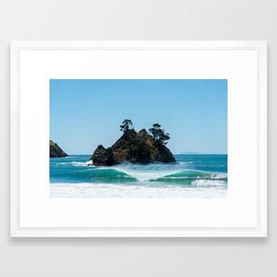 Coromandel Peak Framed Art Print - Society6