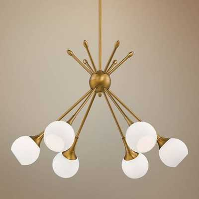 "George Kovacs Pontil 24"" Wide Honey Gold Chandelier - Lamps Plus"