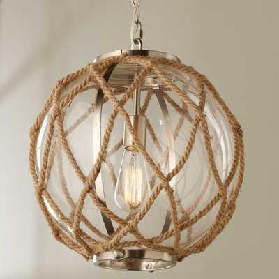 Jute Rope Globe Pendant - Shades of Light