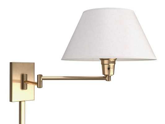 Torrance 1-Light Swing Arm Lamp - Wayfair