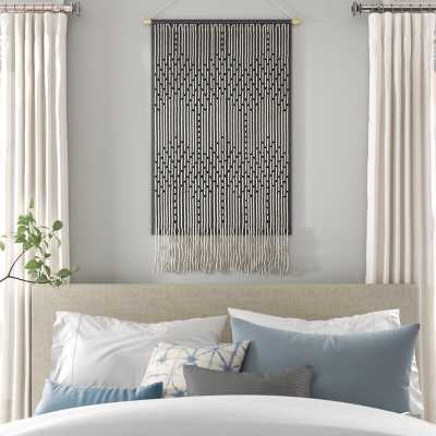 Cotton Wall Hanging with Rod Included - Wayfair