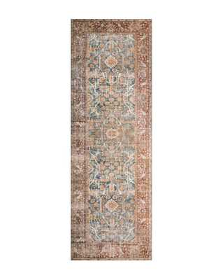 "TUNIS PATTERNED RUG, 2'6"" x 12' - McGee & Co."