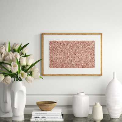 'Japanese Textile Collage III' Framed Graphic Art Print - Perigold