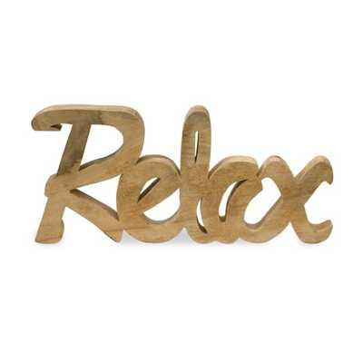 Relax Mango Wood Decor - Mercer Collection