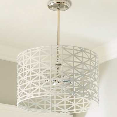 YOUNG HOUSE LOVE METAL STRAP CONVERTIBLE CHANDELIER - Shades of Light