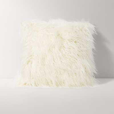 The Mongolian Faux Fur Throw Pillow - Burrow