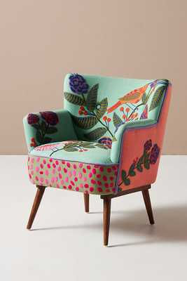 Izzy Petite Accent Chair - Anthropologie