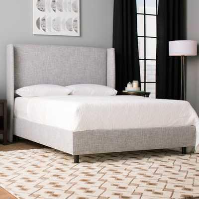 Alrai Upholstered Standard Bed - California King, Zuma Pumice - Wayfair
