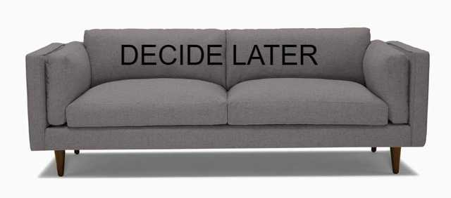 Parker Sofa - Decide Later fabric - Joybird