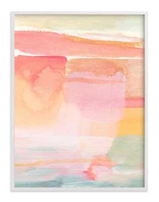 """Rising light - Natural Raw Wood Frame - 31.3"""" X 41.3"""" - Minted"""