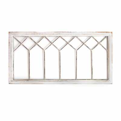 Distressed Window Panel Wall Décor - Wayfair