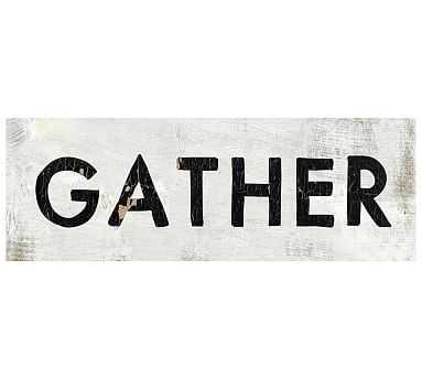 "Gather, 40 x 14"", Sintra - Pottery Barn"