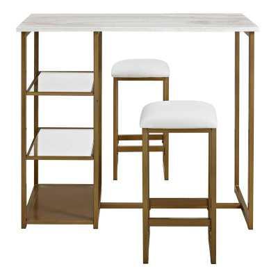 Denham 3 Piece Pub Table Set - Wayfair