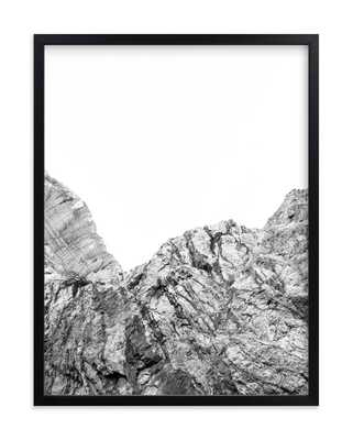 Painted Canyon 5, 18x24, black wood frame - Minted