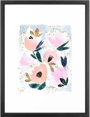 Dreamy Flora Framed Art Print - Society6