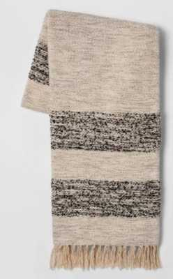 Woven Stripe Throw Blanket - Threshold™ - Plaid - Target