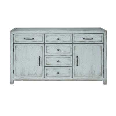 Melrose Entryway 6 Drawer Accent Chest - Wayfair