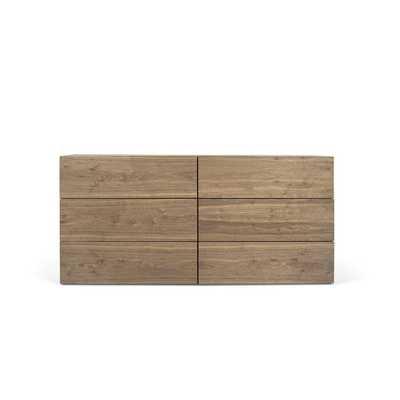 Karr 6 Drawer Double Dresser - Wayfair